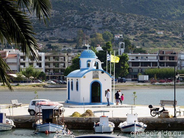 greek church Evia