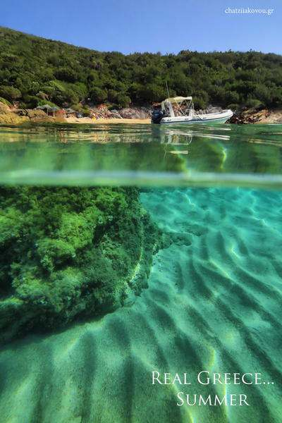 real Greece underwater