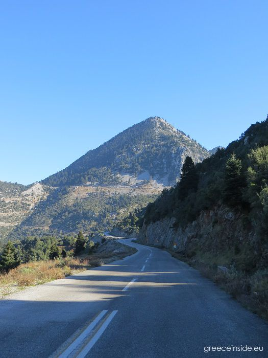 Evia Mountain road